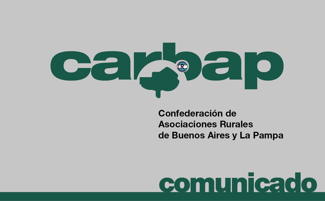 El sábado CARBAP convoca al Consejo Abierto en Olavarría, Bs As